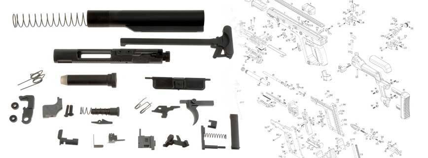 GBB Rifle Parts