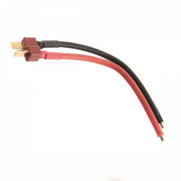 King Arms Large T-Type Battery Plug with Wires