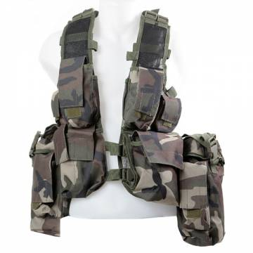 Swiss Arms Cargo Tactical Vest (Woodland)