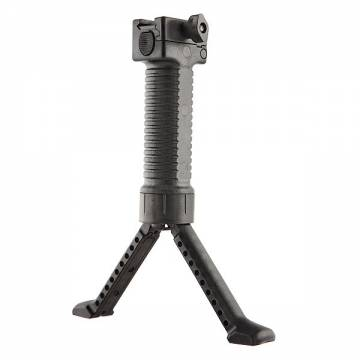 Swiss Arms Automatic Bipod and Vertical Grip - Black