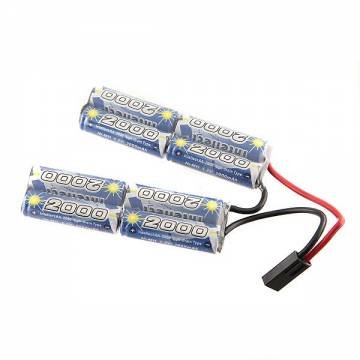 Intellect Battery 9,6V NiMH 2000mAh (Twin Pack)
