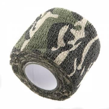Camouflage Fabric 5x450cm (Woodland)