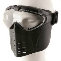 EA Full Face Goggle Mask with Fan (Black)