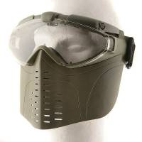 EA Full Face Goggle Mask with Fan (OD)