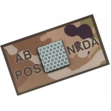 King Arms NKDA Blood Type Patch - AB