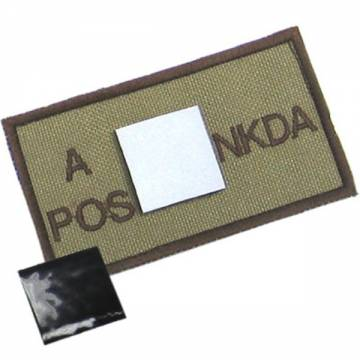 King Arms NDKA Blood Type Patch - D3C - A