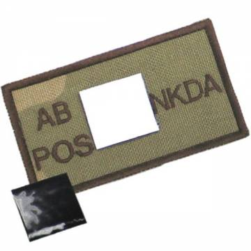 King Arms NDKA Blood Type Patch - D3C - AB