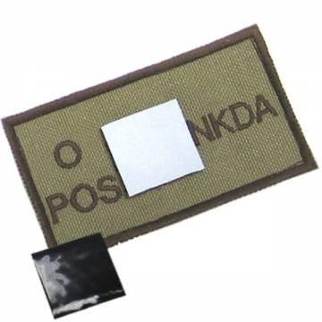 King Arms NDKA Blood Type Patch - D3C - O