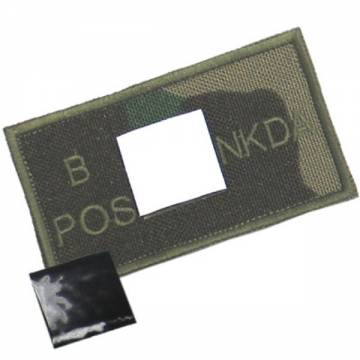 King Arms NDKA Blood Type Patch - Woodland - B