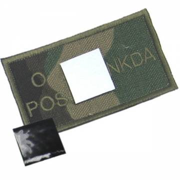 King Arms NDKA Blood Type Patch - Woodland - O