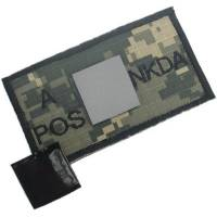 King Arms NDKA Blood Type Patch - ACU - A