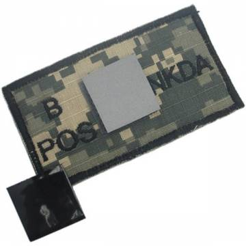 King Arms NDKA Blood Type Patch - ACU - B