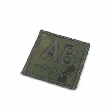 King Arms Cube Blood Type Patch - MC - AB