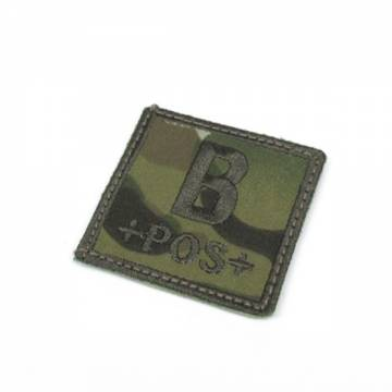 King Arms Cube Blood Type Patch - MC - B