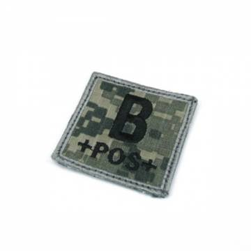 King Arms Cube Blood Type Patch - ACU - B