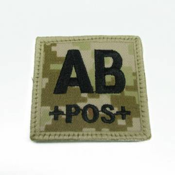 King Arms Cube Blood Type Patch - MD - AB