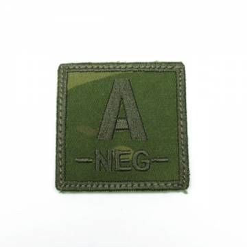 King Arms Cube Blood Type Patch - MC - A-