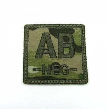 King Arms Cube Blood Type Patch - MC - AB-