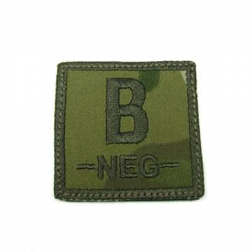 King Arms Cube Blood Type Patch - MC - B-