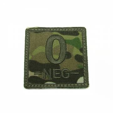 King Arms Cube Blood Type Patch - MC - O-