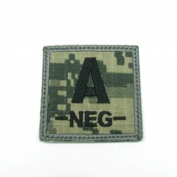 King Arms Cube Blood Type Patch - ACU - A-