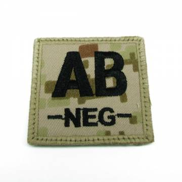 King Arms Cube Blood Type Patch - MD - AB-