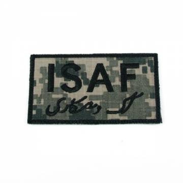 King Arms ISAF Embroidery Patch - ACU