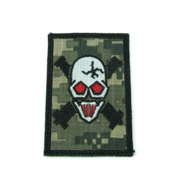 King Arms Devgru Gold Shooter Team Embroidery Patch - ACU