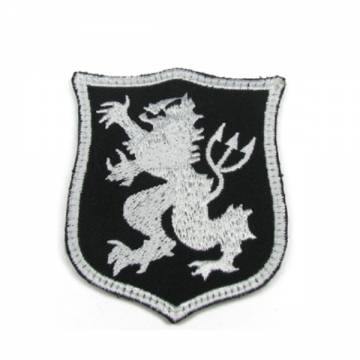 King Arms Seal Gold Team Lion-S Embroidery Patch - BK