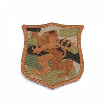 King Arms Seal Gold Team Lion-S Embroidery Patch - MC