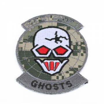 King Arms Ghosts SOG Team Embroidery Patch - ACU
