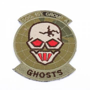 King Arms Ghosts SOG Team Embroidery Patch - MC