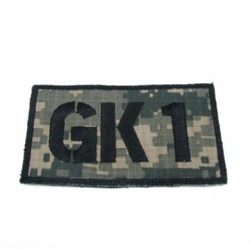 King Arms Seal Team GK1 Callsign Embroidery Patch - ACU