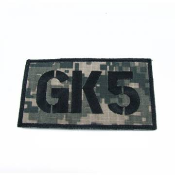 King Arms Seal Team GK5 Callsign Embroidery Patch - ACU