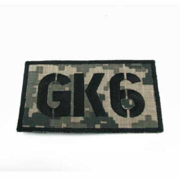King Arms Seal Team GK6 Callsign Embroidery Patch - ACU