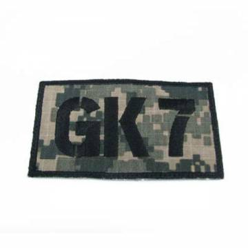 King Arms Seal Team GK7 Callsign Embroidery Patch - ACU