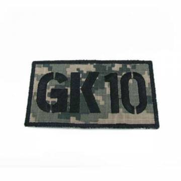 King Arms Seal Team GK10 Callsign Embroidery Patch - ACU