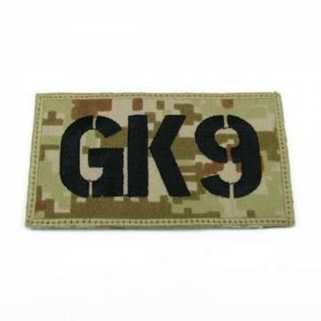 King Arms Seal Team GK9 Callsign Embroidery Patch - MD
