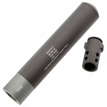 King Arms P90 Quick Detach Silencer with Flash Hider