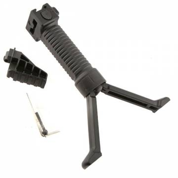 Tactical Bipod Grip with Rail System