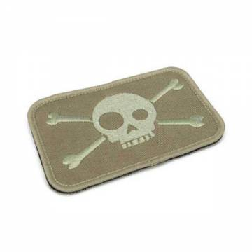 King Arms Funny Skull Embroidery Patch - OD