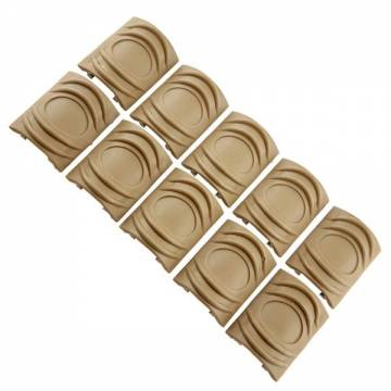 Element TDI Rail Cover Short 10pcs (TAN)