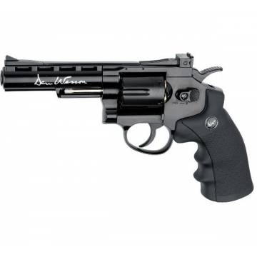 Dan Wesson 4 Inch 4,5mm Revolver Black - Full Metal