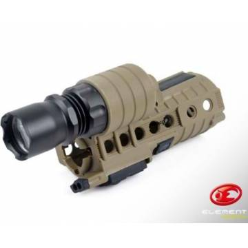 Element eM500A CREE Handguard WeaponLight for M4 - DE