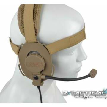 Z Tactical Bowman EVO III Doulbe Side Headset - DE