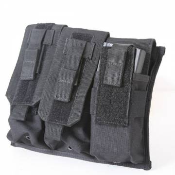Molle Fast Access Triple Magazine Pouch - Black