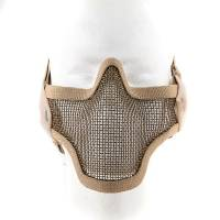 Black Bear Stalker Style Shadow Mesh Mask (Tan)