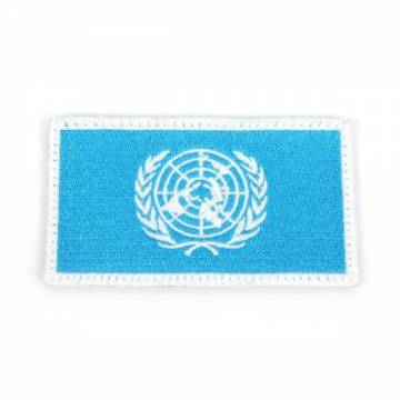 King Arms UN Embroidery Flag