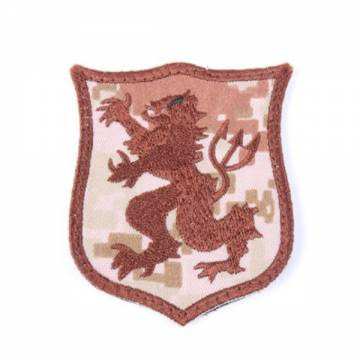King Arms Seal Gold Team Lion-S Embroidery Patch - MD