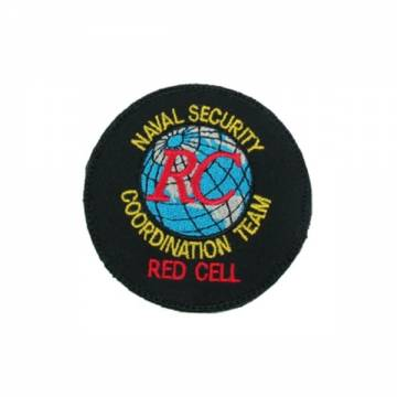King Arms Seal Team 6 Red Cell Embroidery Patch